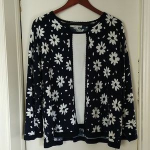 Cute spring plus size sweater